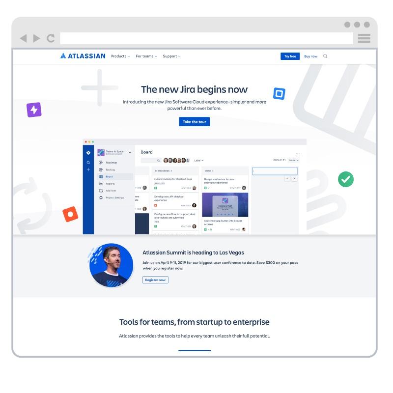 atlassian-website-example