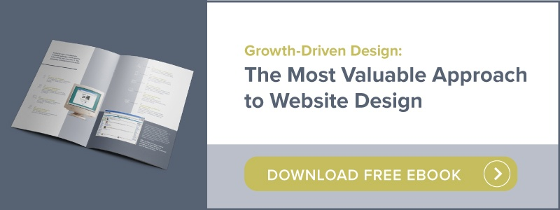 Growth-Driven Design: The Most Valuable Approach to Website Design | Download free ebook