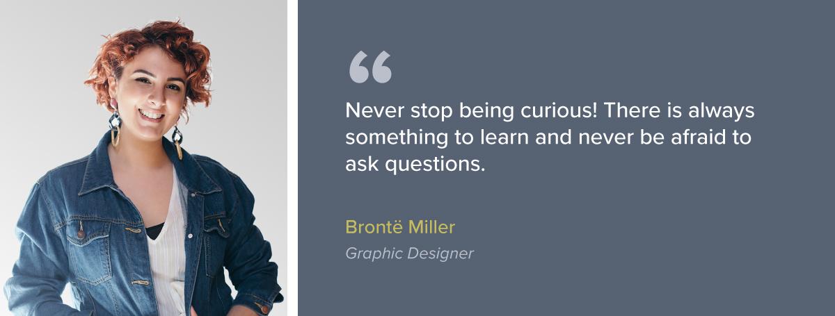 Employee Spotlight: Brontë Miller